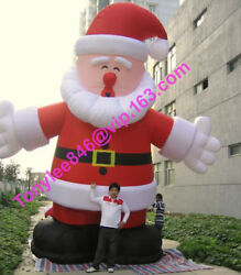 15ft Tall Giant Inflatable Santa Claus Blow Up Outdoorul Blower Include