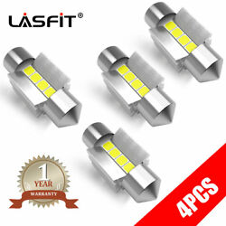 Lasfit 31mm White Vehicle Festoon Dome Map Led Interior Light Bulb De3175 De3022