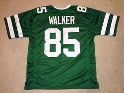 Unsigned Custom Sewn Stitched Wesley Walker Green Jersey - M L Xl 2xl