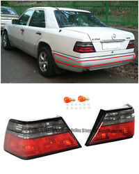 For 86-95 Mb W124 E-class 2dr | 4dr Rear Crystal Smoke Brake Lamps Tail Lights