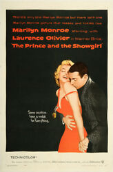 The Prince and the Showgirl 1957 27x41 Orig Movie Poster FFF-00664 Very Fine