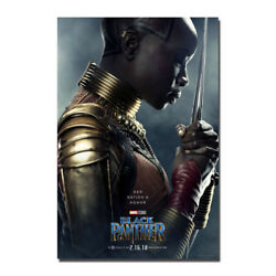 Black Panther 2018 Hot Movie Art Canvas Poster 12x18 20x30 inch-002