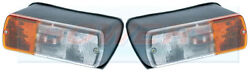 Pair Of Britax Front Lights For Case David Brown Fiat Ford New Holland Tractor