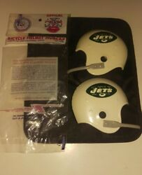 Rare Mint 1969 New York Jets Afl Football Helmet Bicycle Hubcaps