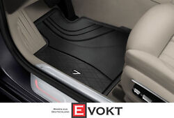 Bmw 7 Series G11 G12 Lhd All Weather Rubber Floor Mats Set Genuine New