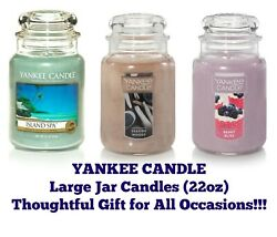 Yankee Jar Candles 22oz Jar Candle Thoughtful Gift Any Occasion Buy 2 amp; SAVE