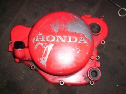 Clutch Oil Side Cover Engine 81 Honda Cr450r Elsinore Cr450 450r 1981  12/05