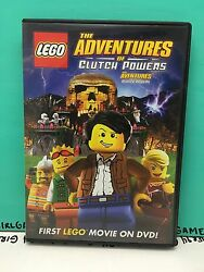 Lego: The Adventures of Clutch Powers (DVD 2010) - Like New! Family Kids Movie