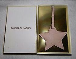 Designer Michael Kors Ballet Leather Star Purse Bag Charm Luggage Tag New