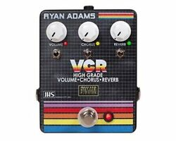 JHS The VCR Volume Chorus Reverb Guitar Effects Pedal Stompbox Footswitch 2DAY!