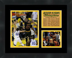 Cleveland Cavaliers Lebron James Framed Nba Photo Poster 11x14 Frames By Mail