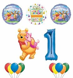 Winnie The Pooh Piglet And Friends 1st Birthday Party Supplies