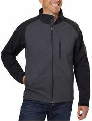 Kirkland Signature Menand039s Softshell 3-layer Jacket Check For Color And Sizes