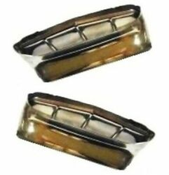 Stainless Exhaust Tips For 1957-1959 Plymouth - Dodge