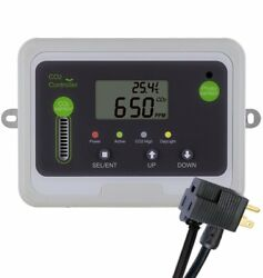 CO2Meter RAD-0501 Day Night CO2 Monitor and Controller for Greenhouses Grey