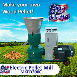 Electric Pellet Mill For Cowand039s Food - Mkfd200b - Free Shipping