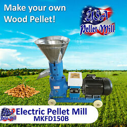 Electric Pellet Mill For Cowand039s Food - Mkfd150b - Free Shipping