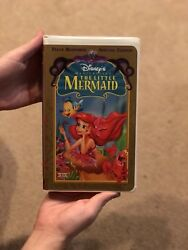 Still Sealed By Sticker The Little Mermaid Vhs 1998 Special Edition