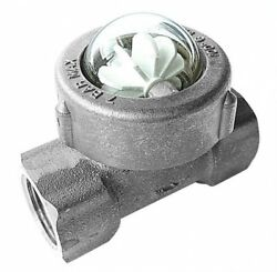 B15-00845 - 1 Bspp St/steel Flow Indicator With Spinner