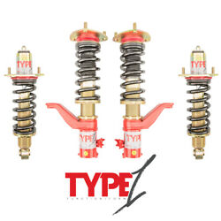 Function And Form Type 1 Height Adjustable Coilovers Honda Civic Si Ep3 2001-2005
