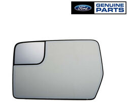 New Oem 2011-2014 Ford F-150 Lh Driver Side Mirror Glass W/integrated Spotter