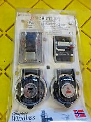 Anchorlift Combo Pack 2 Footswitch Toggle Switch 175a Breaker Got Wet 92175