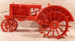 Rare Scale Models 1/16 Diecast Allis-chalmers Wc Steel Wheels Tractor