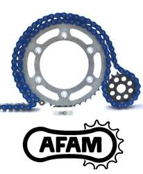 Afam Upgrade Blue Chain And Sprocket Kit Triumph 955 Sprint St 01-04