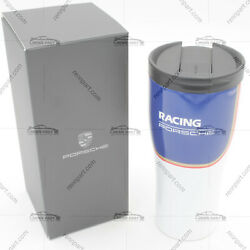 Genuine Porsche Mug Coffee Cup Travel Thermal Insulated Stainless Steel Backorde