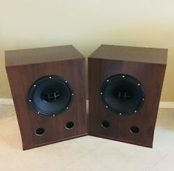 Andnbspaltec Lansing 604e Super Duplex Speakers Crossovers And Custom Made Cabinets