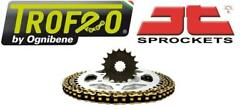 Trofeo And Jt Chain And Sprocket Kit Suzuki Sv1000n K3-k6 Unfaired 03-07