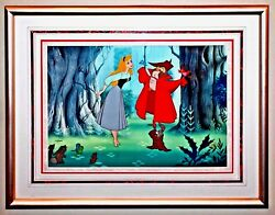 Disney Sleeping Beauty Cel Once Upon A Dream Animation Art Edition Cell