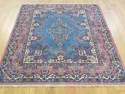 3and03910x5and039 Antique Persian Kerman Full Pile Mint Cond Handknotted Rug G32158