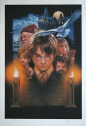 Harry Potter And The Sorcerer's Stone Limited Edition Giclee By Drew Struzan
