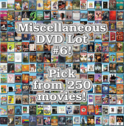 Miscellaneous DVD Lot #6: DISC ONLY - Pick Items to Bundle and Save!
