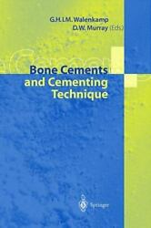 Bone Cements And Cementing Technique By G. H. I. M. Walenkamp