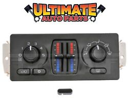 (Manual) Temperature Climate Heater  AC Control for 03-06 Chevy Silverado