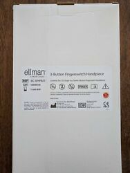 Ellman Pelleve 3-Button Fingerswitch Handpieces - NEW-10 In Box IEC-3FHPB1D