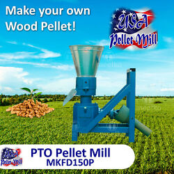Pto Pellet Mill For Wood - Mkfd150p - Free Shipping