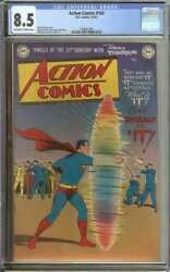 Action Comics 162 Cgc 8.5 Ow/wh Pages // Golden Age Superman Cover + Story