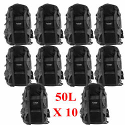 10X 50L Outdoor Sports Man Mountain Backpack Running Rucksacks Bag Shoulders VP