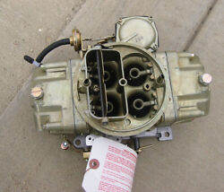 1968-69 Chevy Chevrolet Camaro Z-28 Holley Carb Dz 4053 Dated 943 Gm 3923289