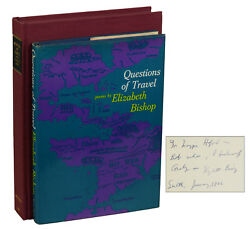 Questions Of Travel By Elizabeth Bishop Signed First Edition 1965 1st Print