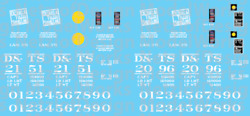 N Scale - Detroit And Toledo Shore Line Ps2 2 Bay Covered Hopper Decals Dtsl