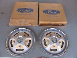 Nos 1977 1978 1979 Ford F100 Bronco Wheel Covers Hubcaps Hubcap Pair