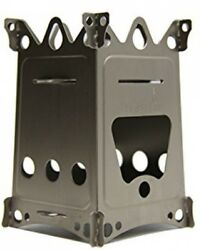 Emberlit FireantTitanium Multi-fuel Backpacking Stove Great for Camping and