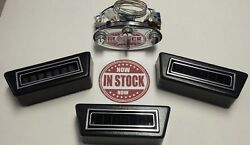 Vintage Air A/c Oval 48104-rhq Streamline Polished Billet Control With Vents