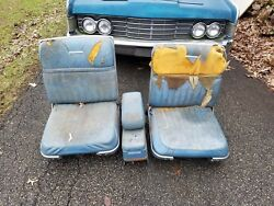 1965 Lincoln Continental Bucket Seats 1964