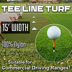 15' Wide Super Tee Line, That Holds A Tee, Driving Range Tee Turf