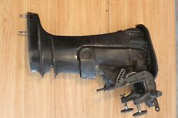 1979 Mercury 20hp Exhaust Housing With Transom Clamp